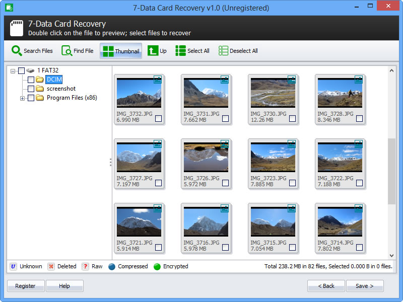 Free SD Memory Card Recovery