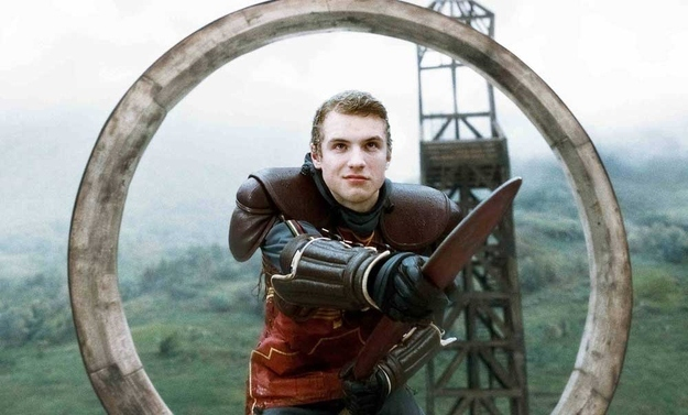 Freddie Stroma and the Harry Potter Series
