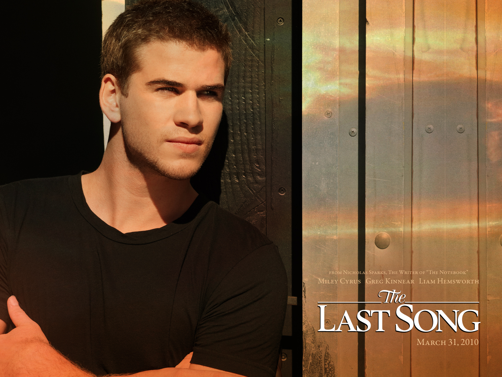 Liam Hemsworth and The Last Song