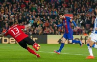 Lionel Messi Saves Barcelona in the 90th minute