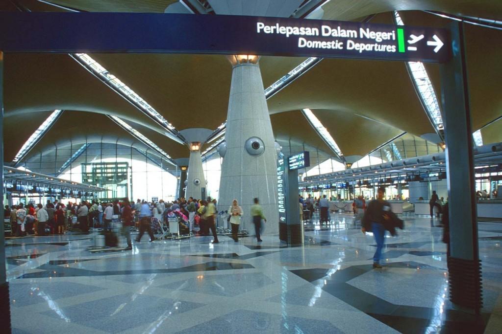 Malaysia airport terminal