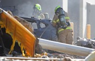 5 killed as aircraft hits shopping centre in a Melbourne plane crash