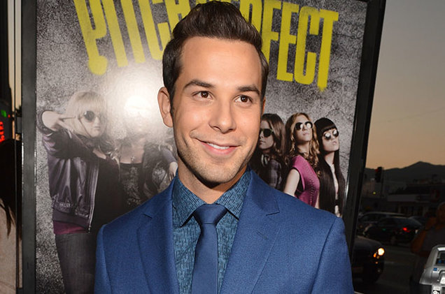Skylar Astin and Pitch Perfect