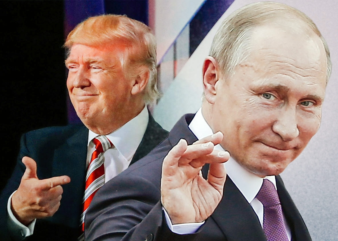 """Trump defends Putin over Russia killings allegations: """"You think our country's so innocent?"""""""