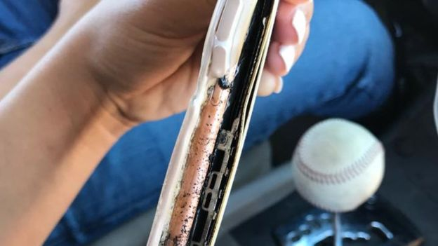iPhone 7 Plus Battery Explodes