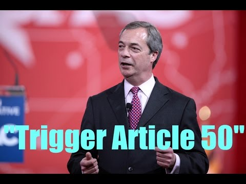 Brexit is Happening, No Turning Back as Article 50 Triggered!