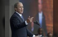 "Interventionist George W Bush Warns of ""Isolationist Tendency"" in U.S."