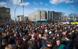 Russia Opposition leader Alexei Navalny detained amid protests across the Country