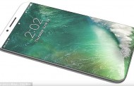 iPhone 8 to Ditch Lightning Port and use Curved Display