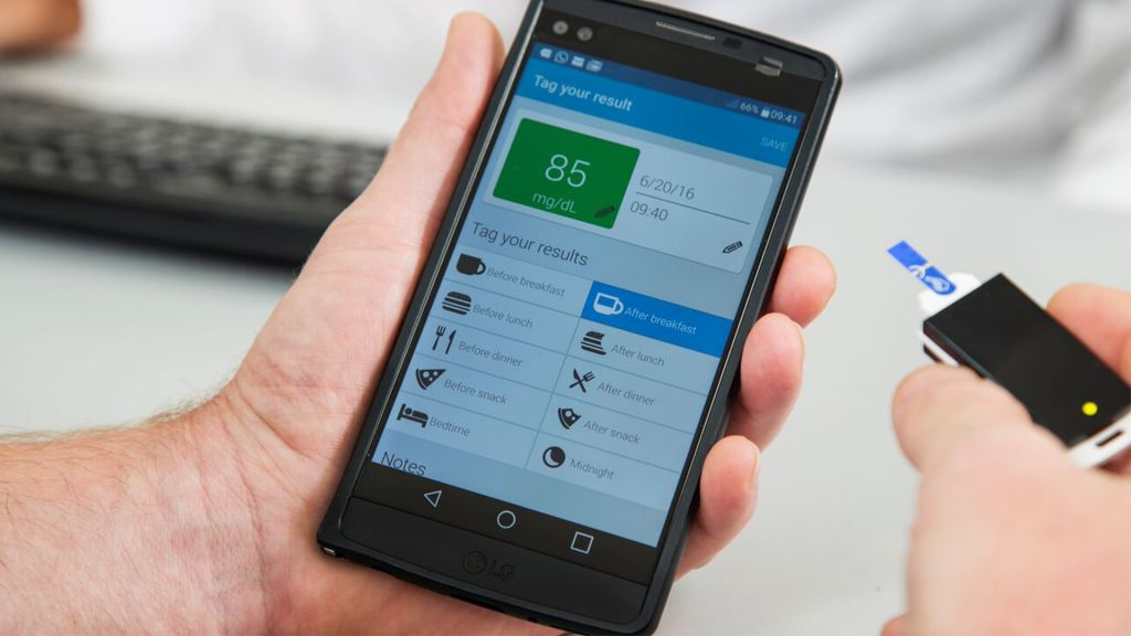 Smartphone App to treat Diabetes
