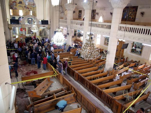 Deadly Egypt Church Attacks Prompts a State of Emergency