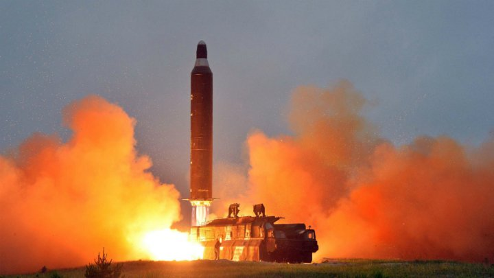 North Korea Test Fire of Ballistic Missile