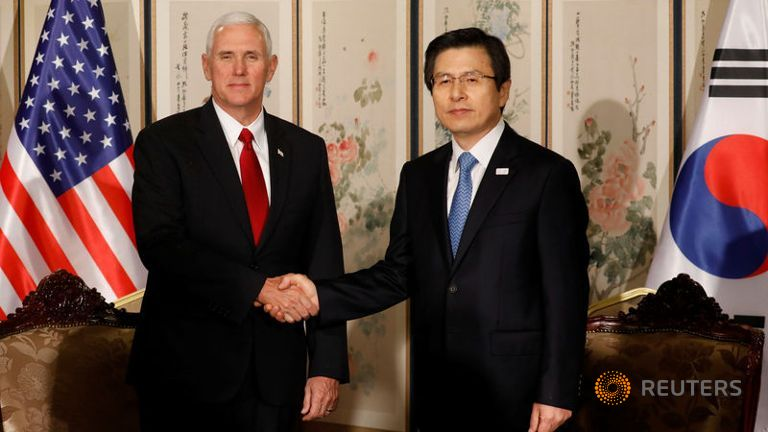Pence Warns North Korea