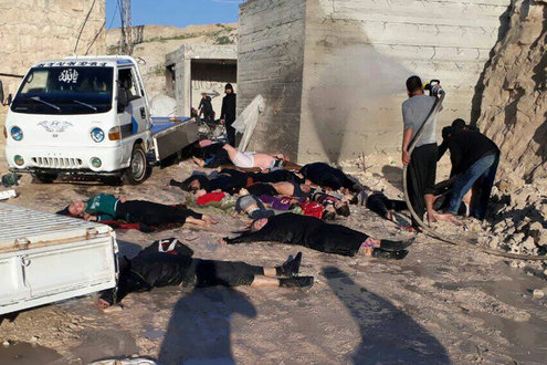 Syria Chemical gas attack