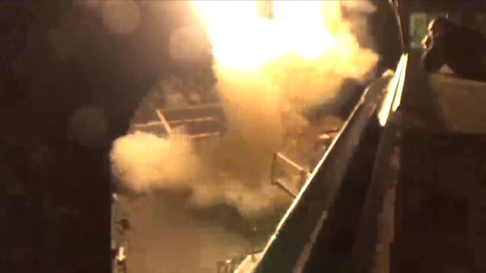 Us Launches Missile Strike Against Syria After Chemical