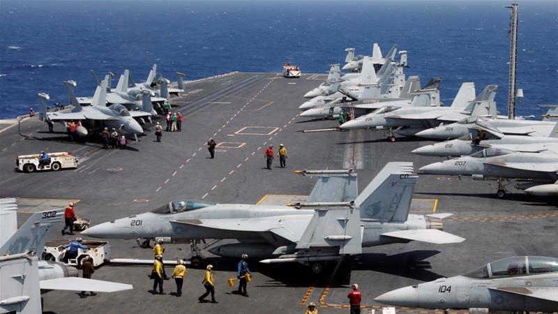 US strike group