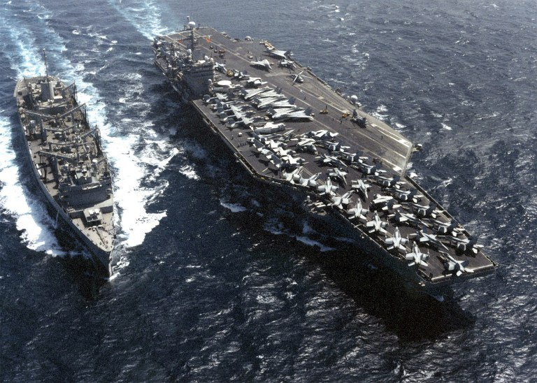 US strike group