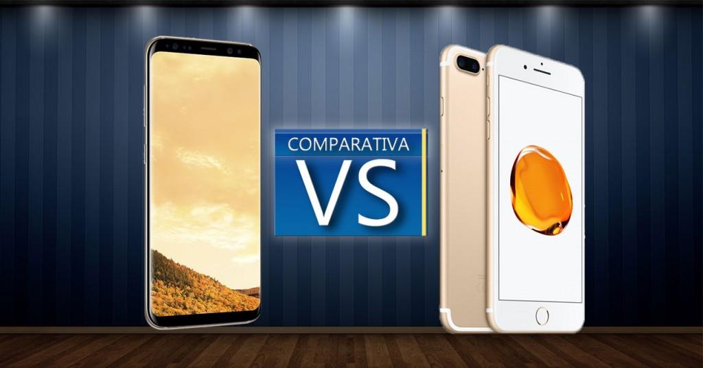 iPhone 7 Plus Vs Galaxy S8