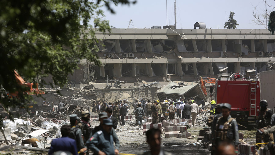 80 Killed and dozens wounded in Kabul after Bombing in Diplomatic Zone