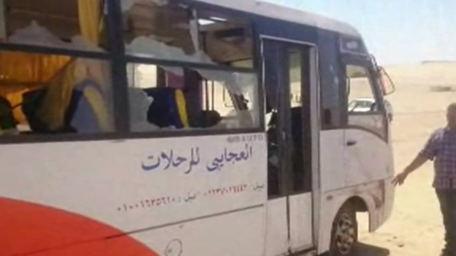 Christians Killed on Bus