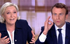 French Presidential Election: Macron and Le Pen Face-off