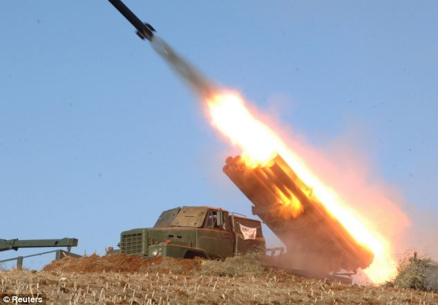 North Korea test-fire 3rd missile in 3 weeks