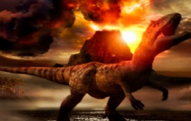 Volcanoes Triggered the Rise of Dinosaurs