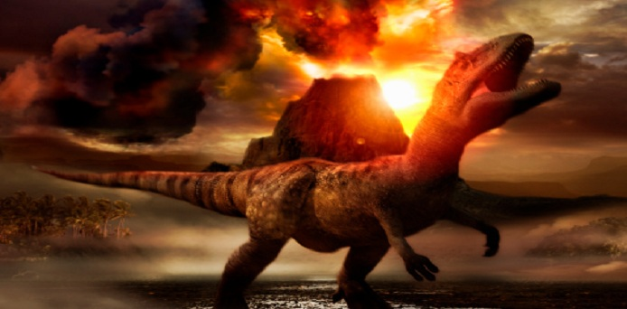 Dinosaur Evolution: Volcanoes Triggered the Rise of Dinosaurs