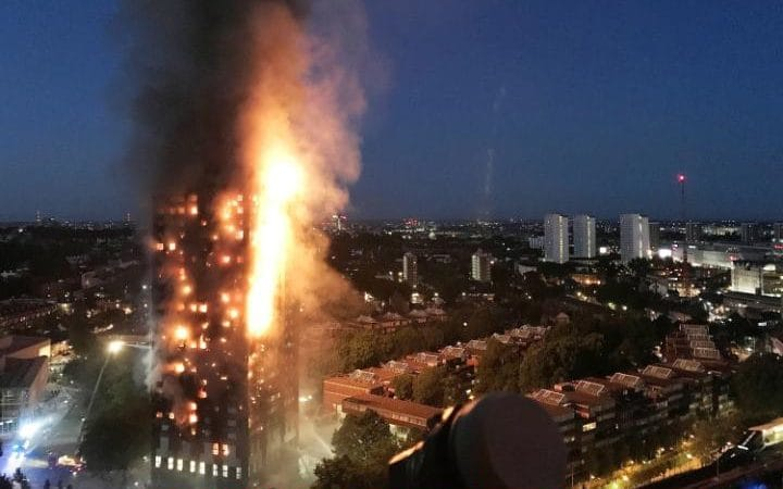 cause of Grenfell Fire