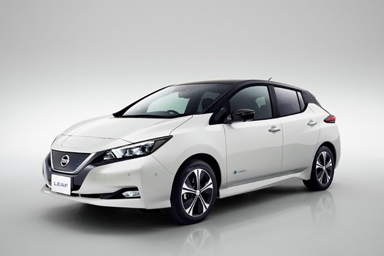 $40,000 Nissan Leaf tops electric car sales in 2018