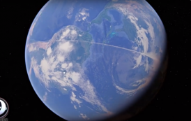 What Caused 13,000-mile Line in the Sky Above the Earth?