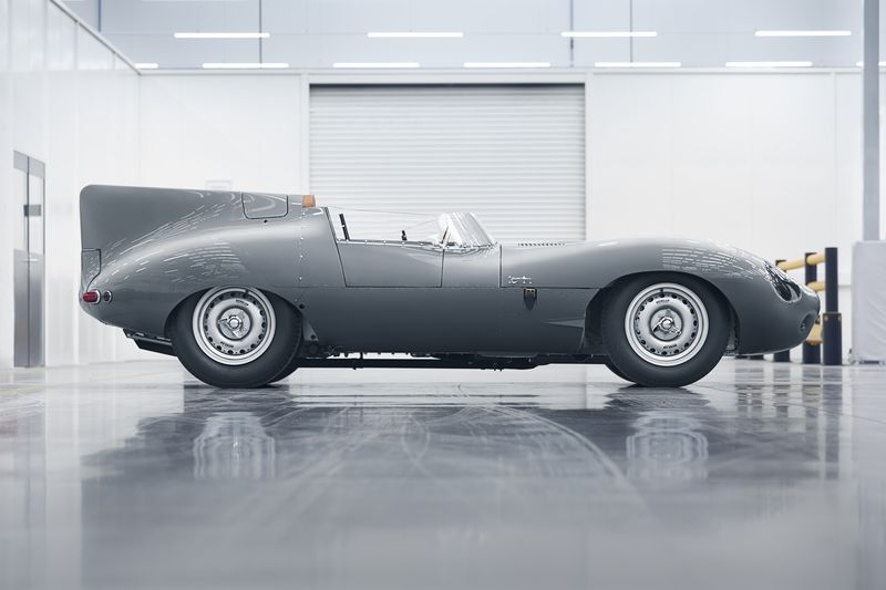 Jaguar's new D-Types
