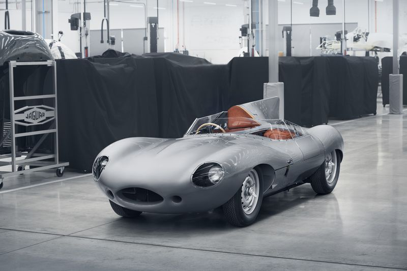 Jaguar's new D-Types to launch later this year