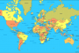 World Map – get a view of the world's political map labeled with countries
