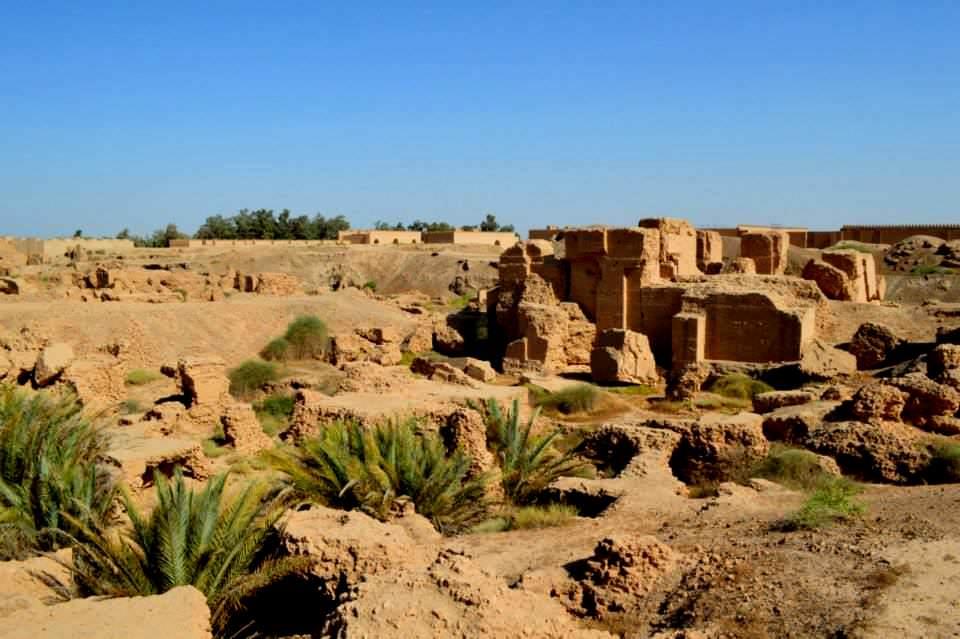 Ruins of Nebuchadnezzar II's palace