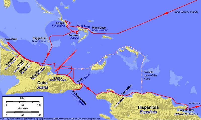 Columbus first voyage