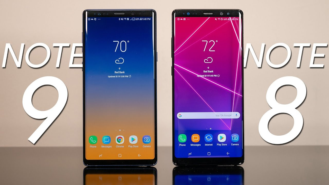 Galaxy Note 8 Vs Galaxy Note 9: Is There Any Difference?