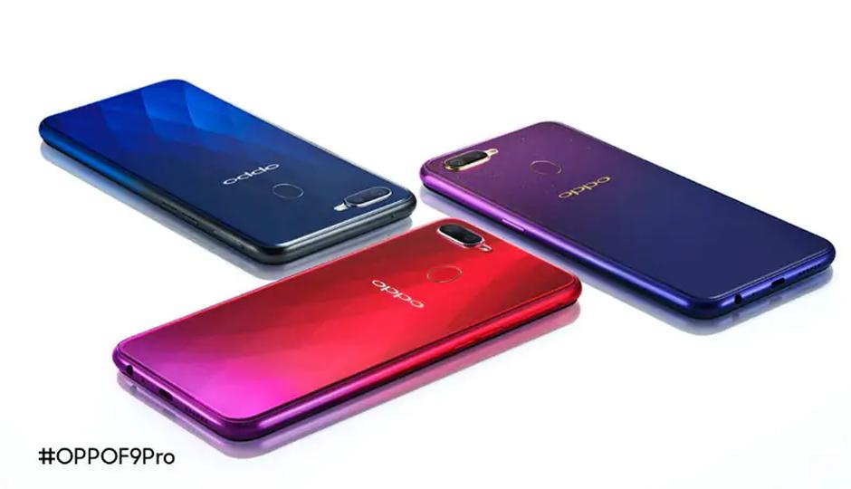 Oppo F9 Features 6.3 Screen Size And Fast Charging Capability