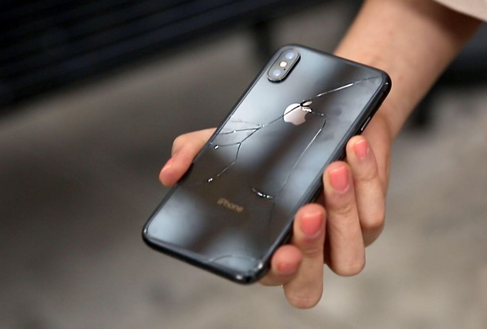 The iPhone X Easily Cracks Under Any Type OF Fall