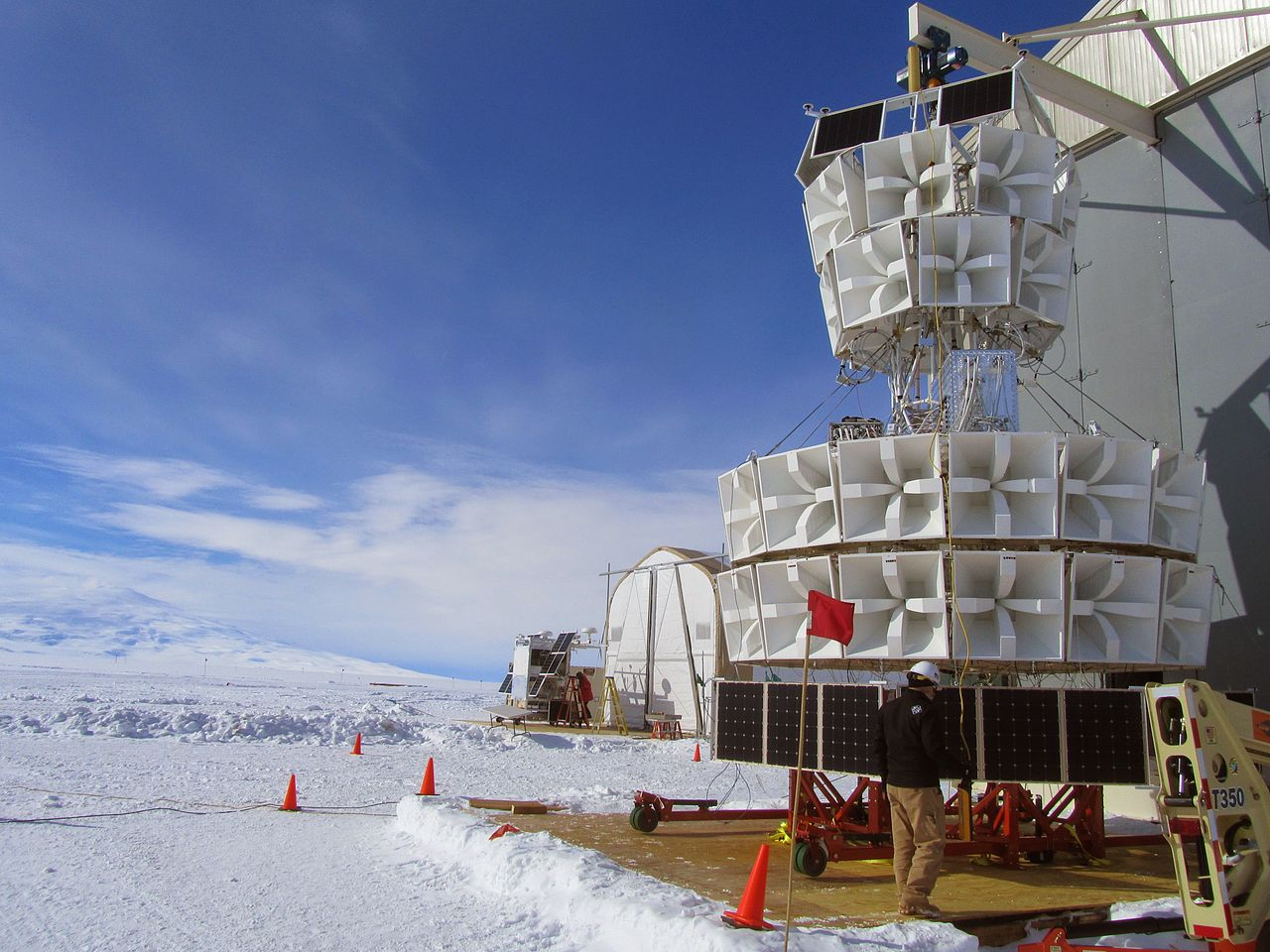Inexplicable particles found in Antarctica